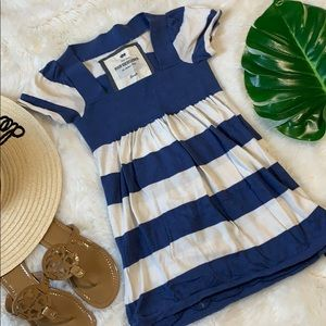 🌺Poof excellence blue/white striped babydoll s